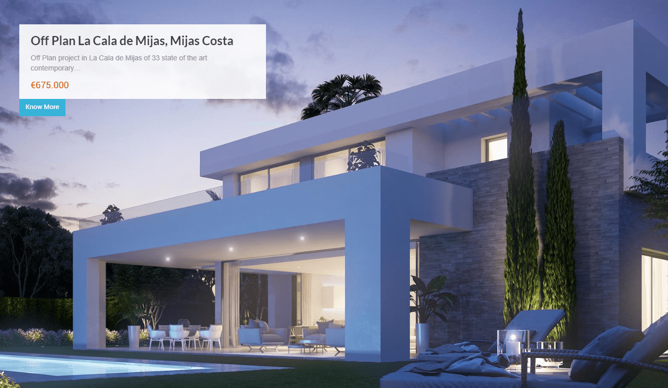 Diseño de pagina web Your Marbella Propertiy