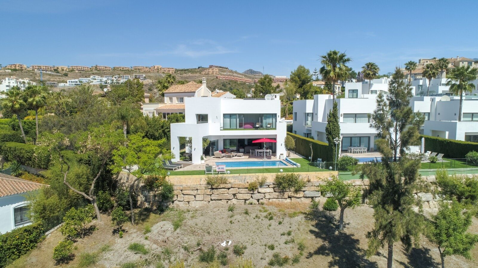 Video dron inmobiliaria Marbella