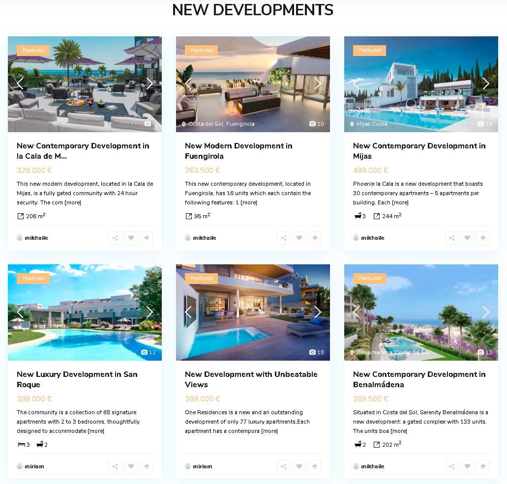 Diseño de pagina web Marbedom Real Estate